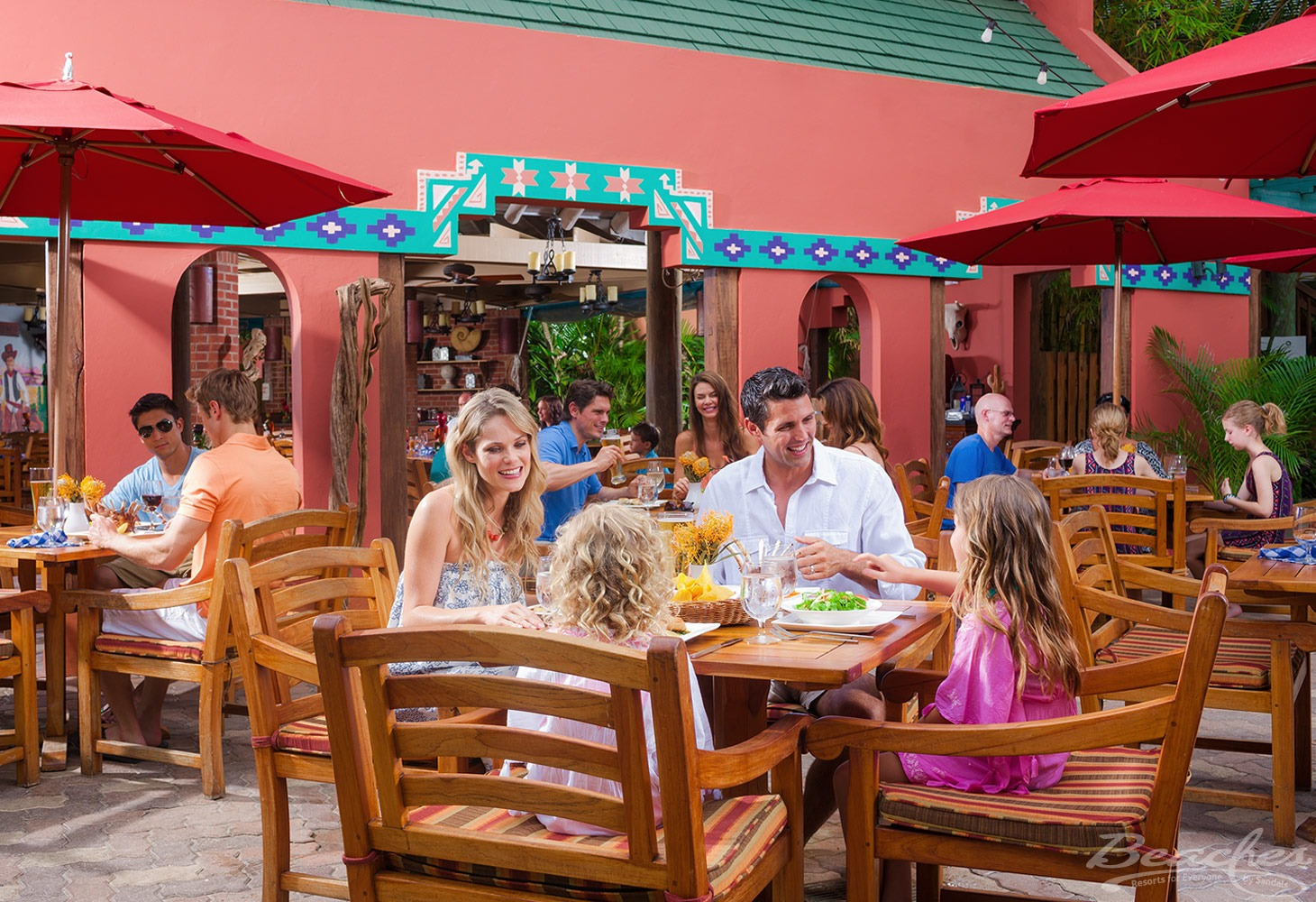Casual dining at Beaches Negril