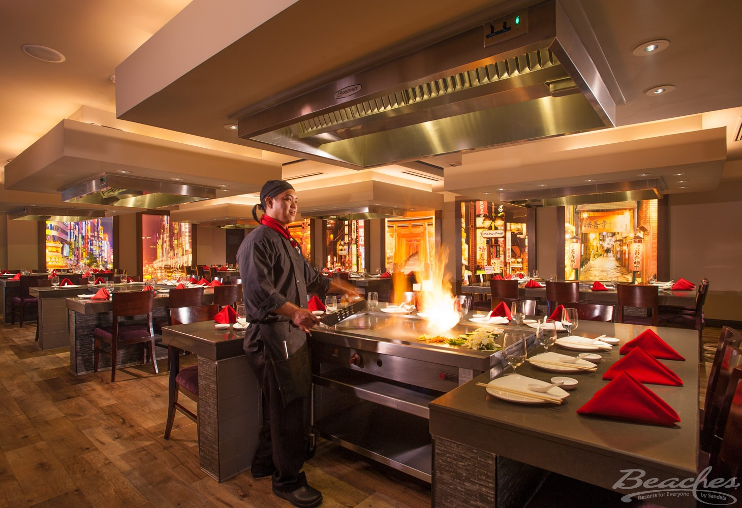 Japanese dining option, all-inclusive