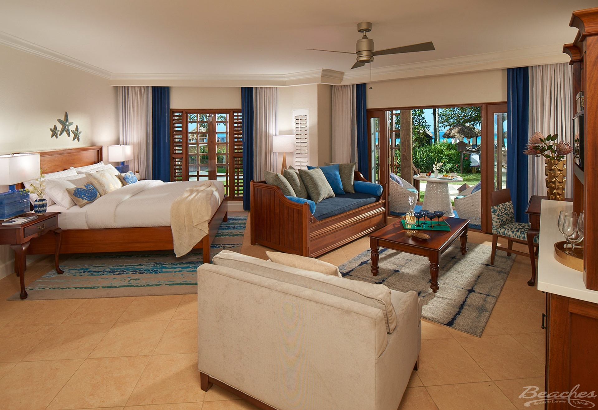 Family suite at Beaches Negril Resort & spa