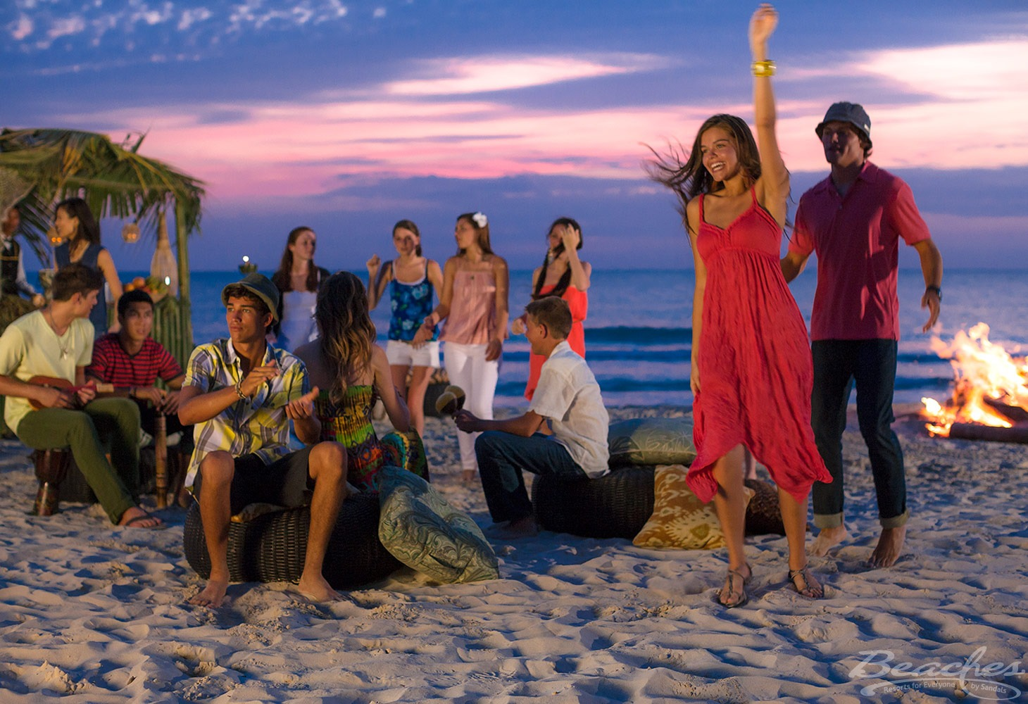 Teens stay busy with planned activites at Beaches Negril Resort