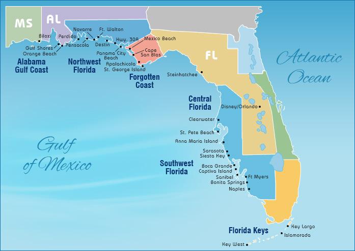 Select A Gulf Coast Beach To Search Als